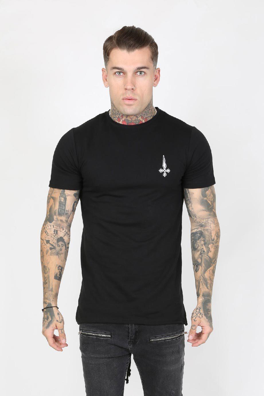 Parka Hem Men's T-Shirt - Black, Small