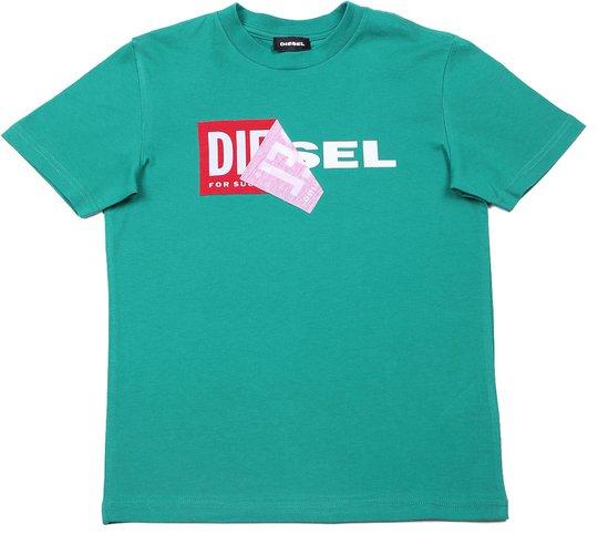 Diesel Tdiego T-Skjorte, Grass Green 10år