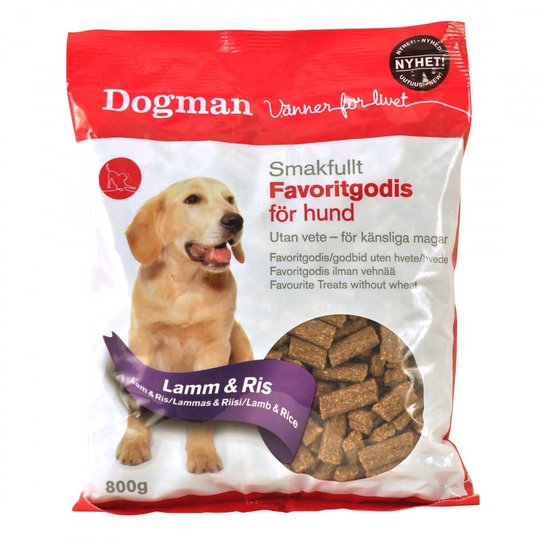 Dogman Favoritgodis Lamm & Ris 800 g