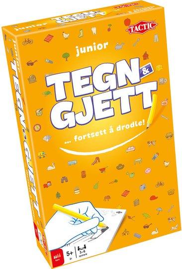 Tactic Reise: Tegn & Gjett Junior