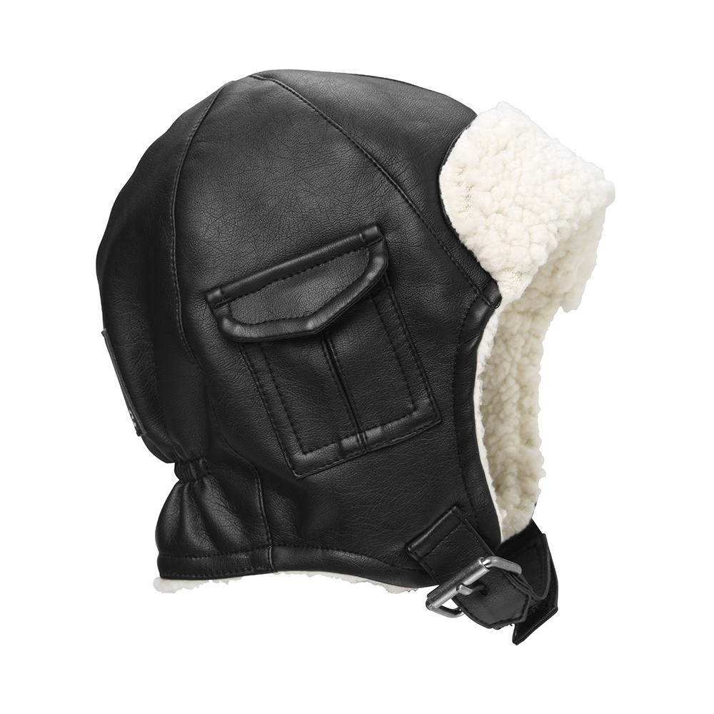 Winter Hat - Aviator Black