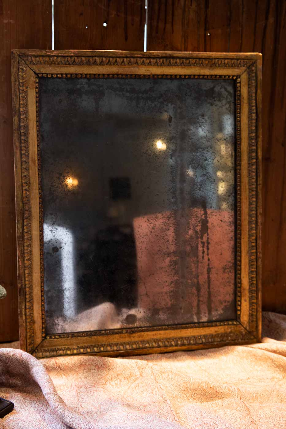 Spegel Antik Frankrike ca 1780 64x52