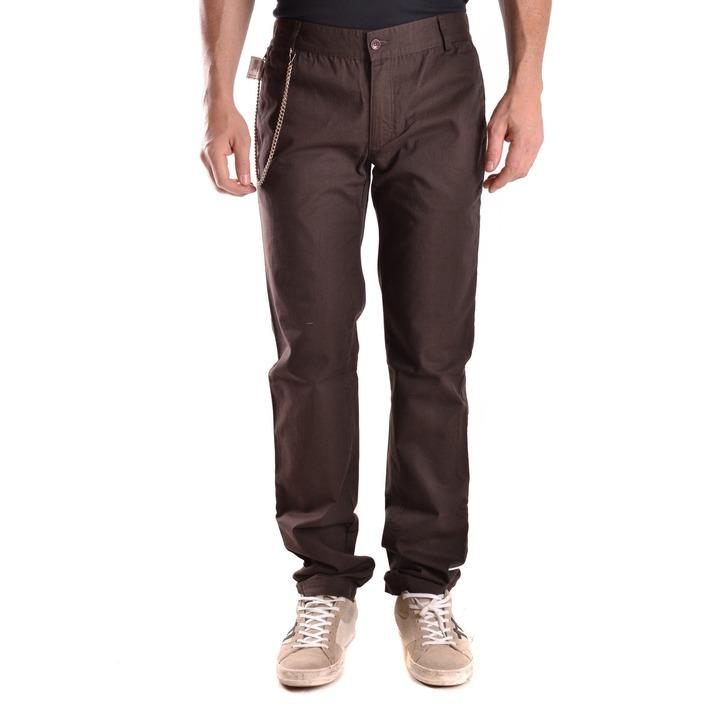 Daniele Alessandrini Men's Trouser Brown 163056 - brown 46