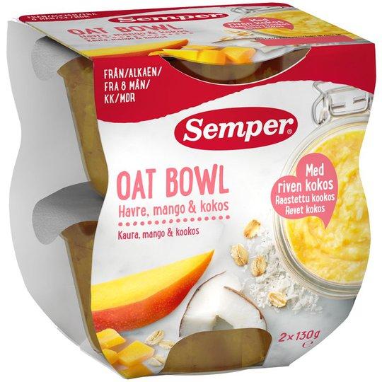 Oat bowl Mango & kokos - 26% rabatt