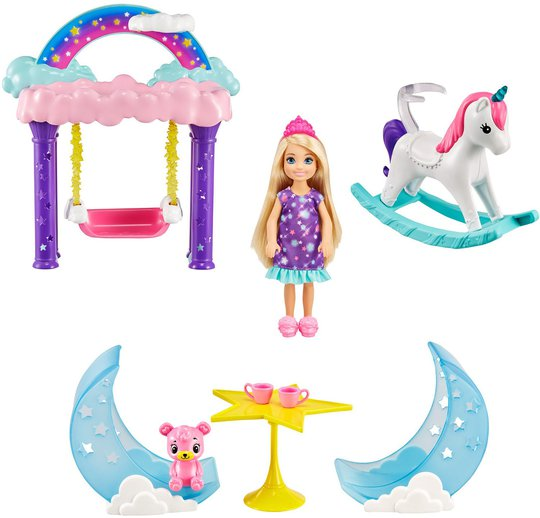 Barbie Dreamtopia Lekesett Chelsea Nurturing 2