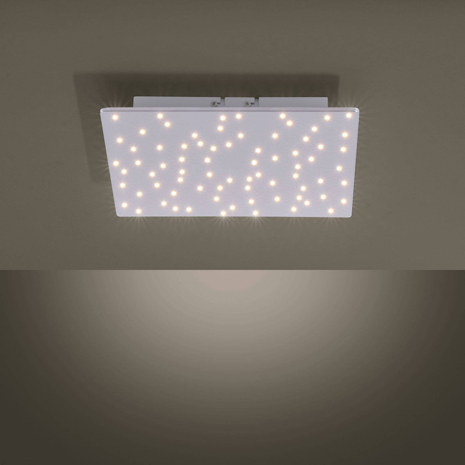 Sparkle LED-taklampe, tunable white, 30 x 30 cm