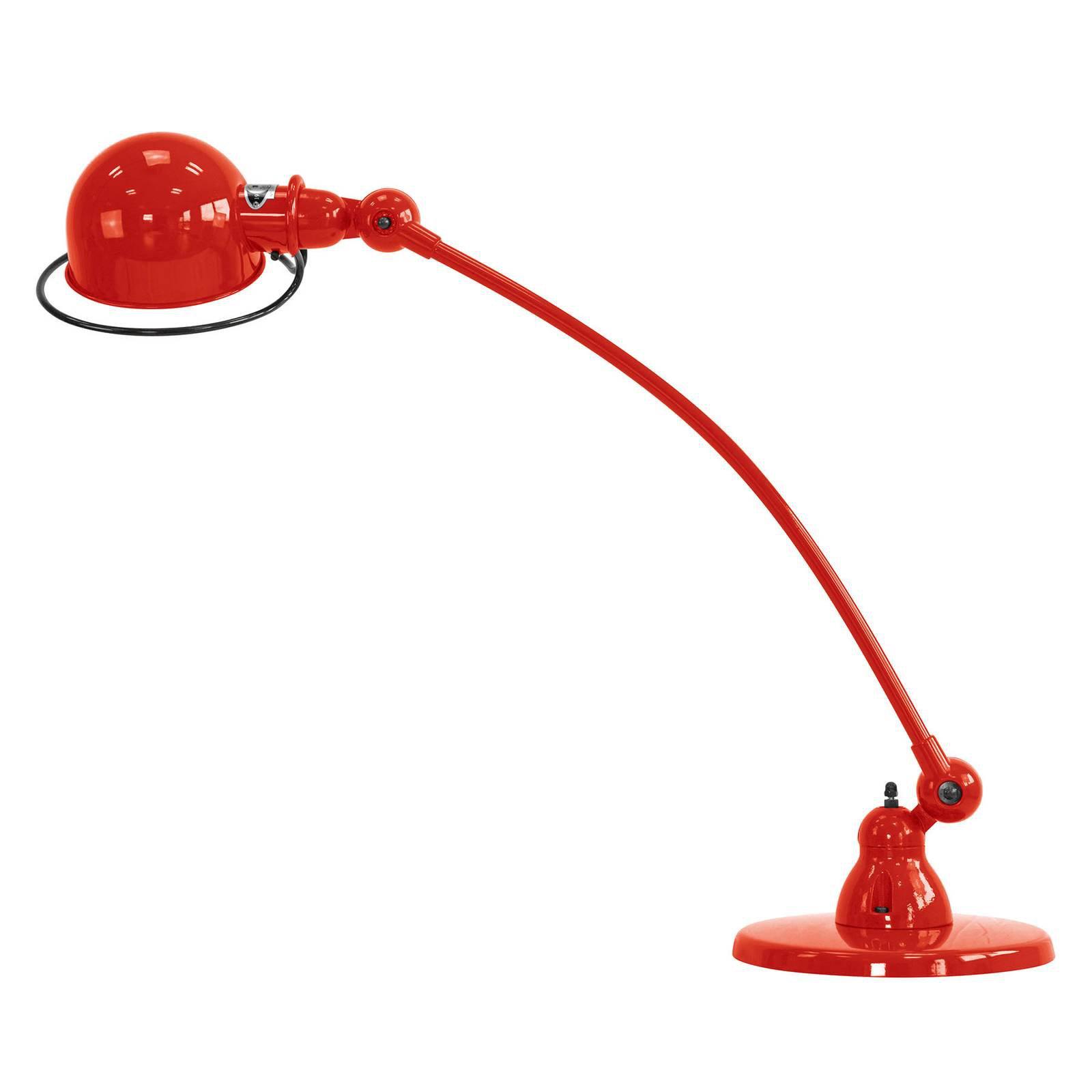 Jieldé Loft C6000 bordlampe, buet, rød