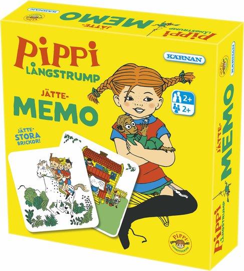 Kärnan Pippi Langstrømpe Kjempememo