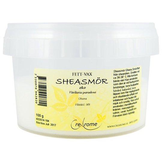 Crearome Ekologiskt Sheasmör, 100 g