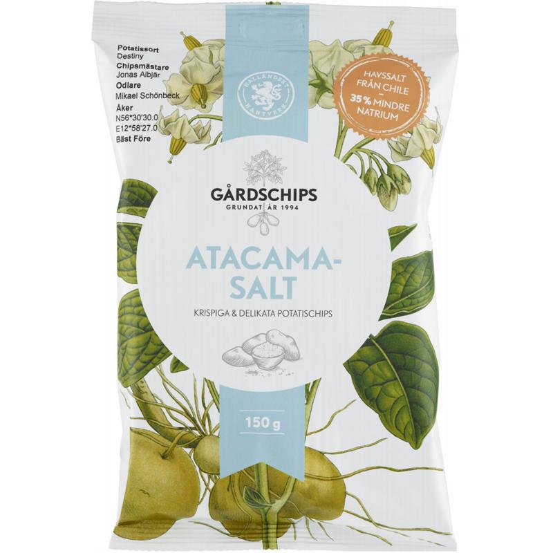 Chips Atacamasalt 150g - 58% rabatt