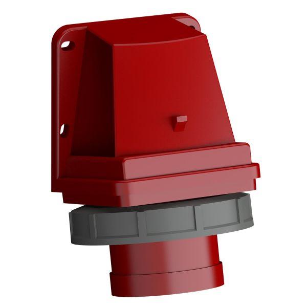 ABB 2CMA102401R1000 Vegginntak hurtigtilkoblet, vibrasjonsbestandig Rød, 32 A, 5-polet, IP67