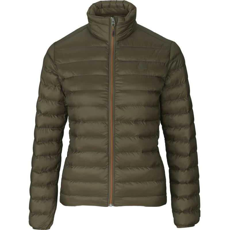 Seeland Hawker Quilt Lady jakke XL Isolerende lettvektsjakke - Pine Green