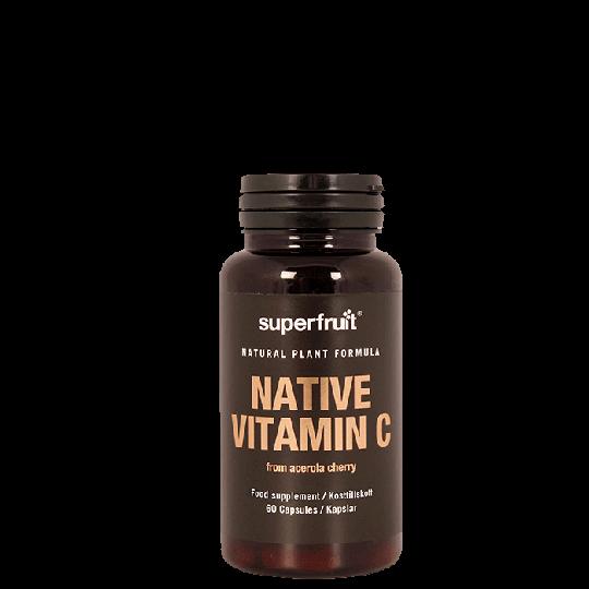 Native Vitamin C, 60 kapslar