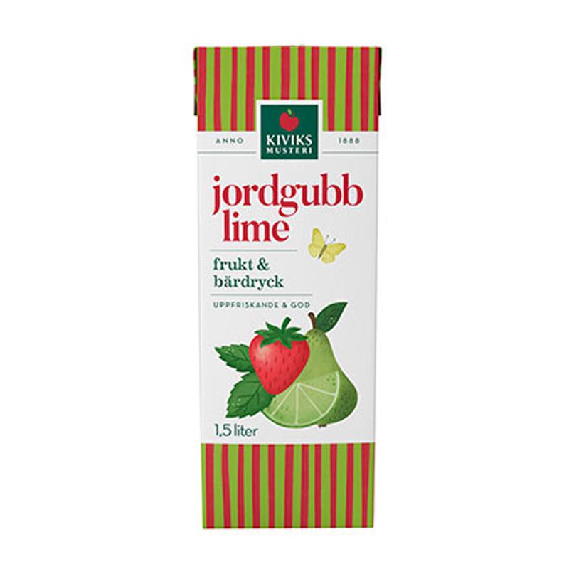 Fruktdryck Jordgubb & Lime - 33% rabatt