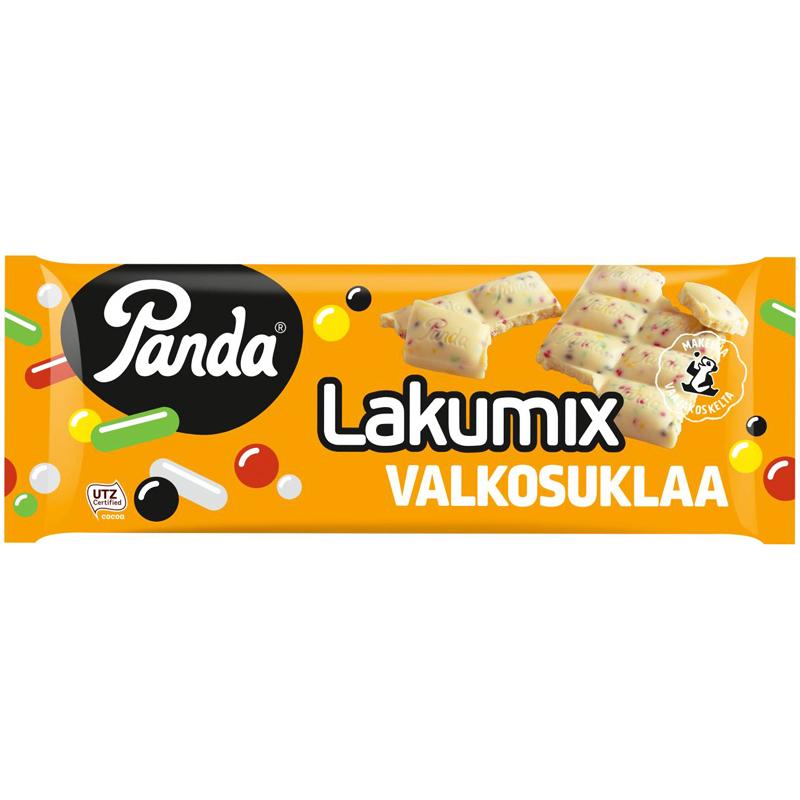 Panda Lakumix Valkosuklaa - 40% alennus