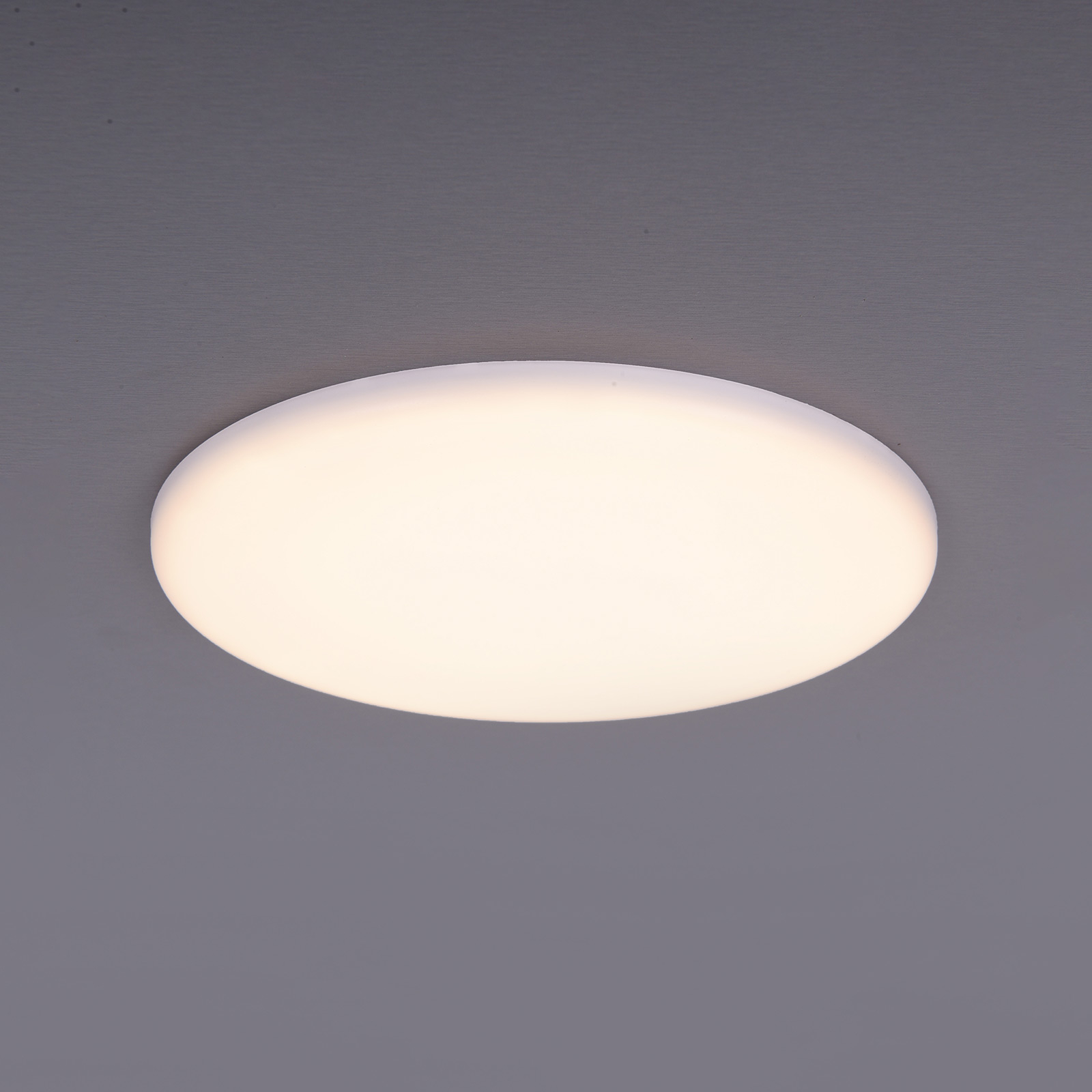 LED-uppovalaisin Sula, pyöreä, IP66, Ø 15,5 cm