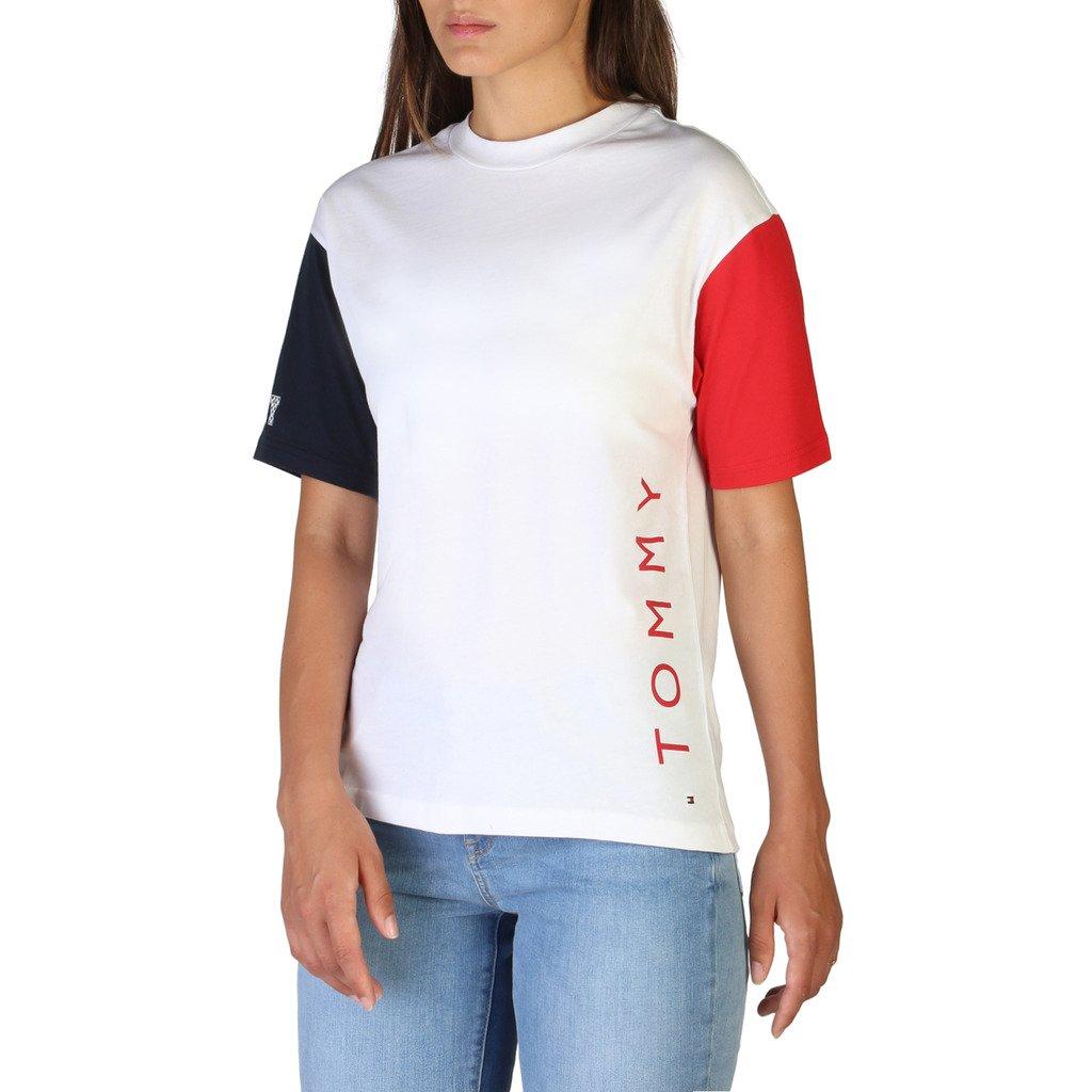 Tommy Hilfiger Women's T-Shirt White WW0WW24150 - white XS