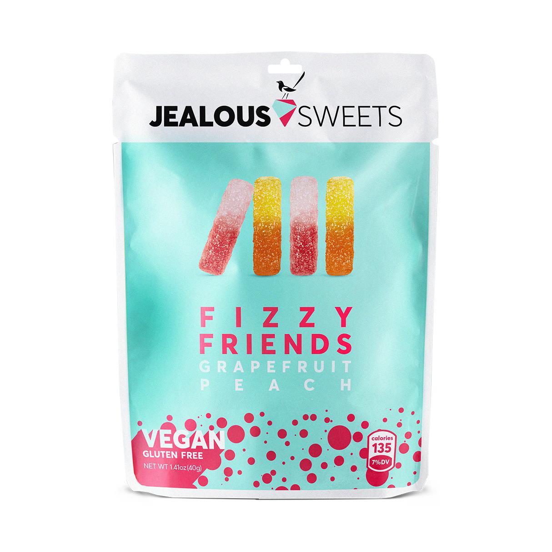 Jealous Sweets Fizzy Friends Grapefruit Peach 126g