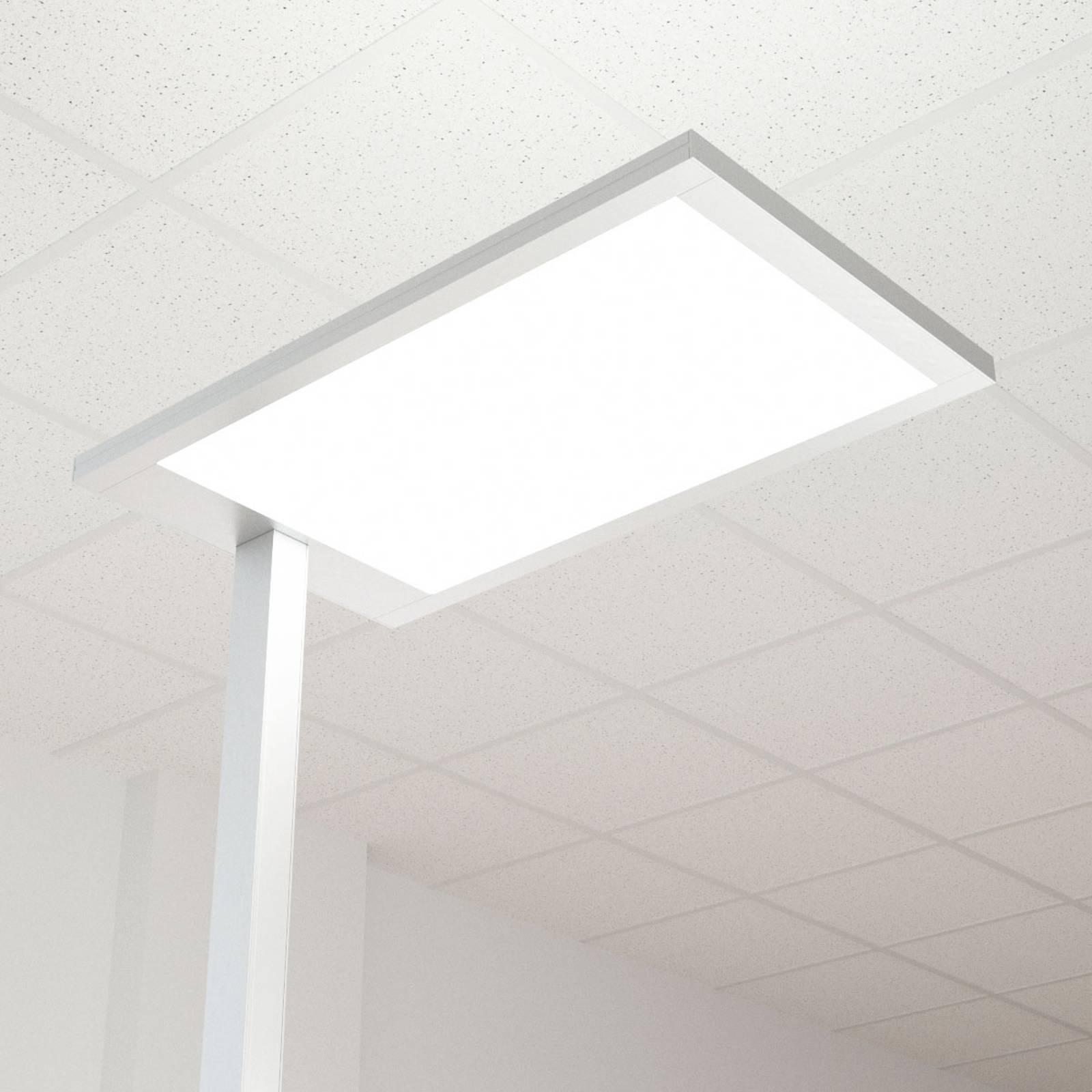LED-toimistovalo Javier, himmennin, suora-epäsuora