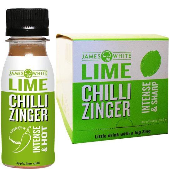 "Eko Hel Låda Juice ""Lime, Chilli Zinger"" 15 x 70ml - 46% rabatt"