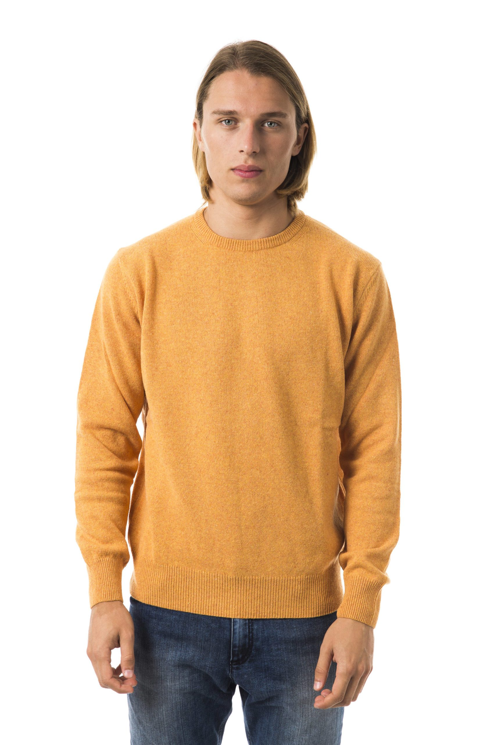 Uominitaliani Men's M A N D A R. Sweater Orange UO815850 - M