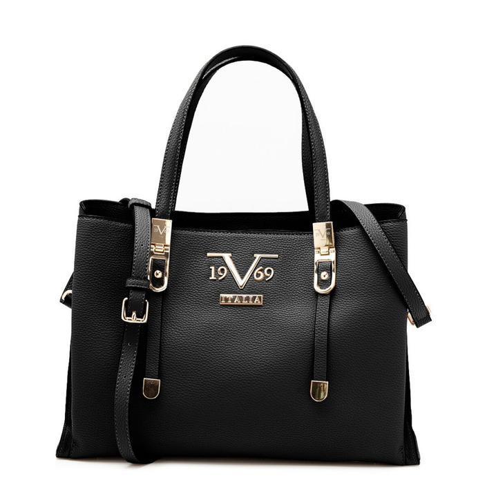 19v69 Italia Women's Handbag Various Colours 318969 - black UNICA