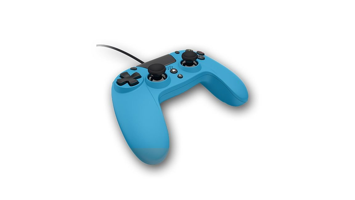 Gioteck Playstation 4 VX-4 Wired Controller (Blue)