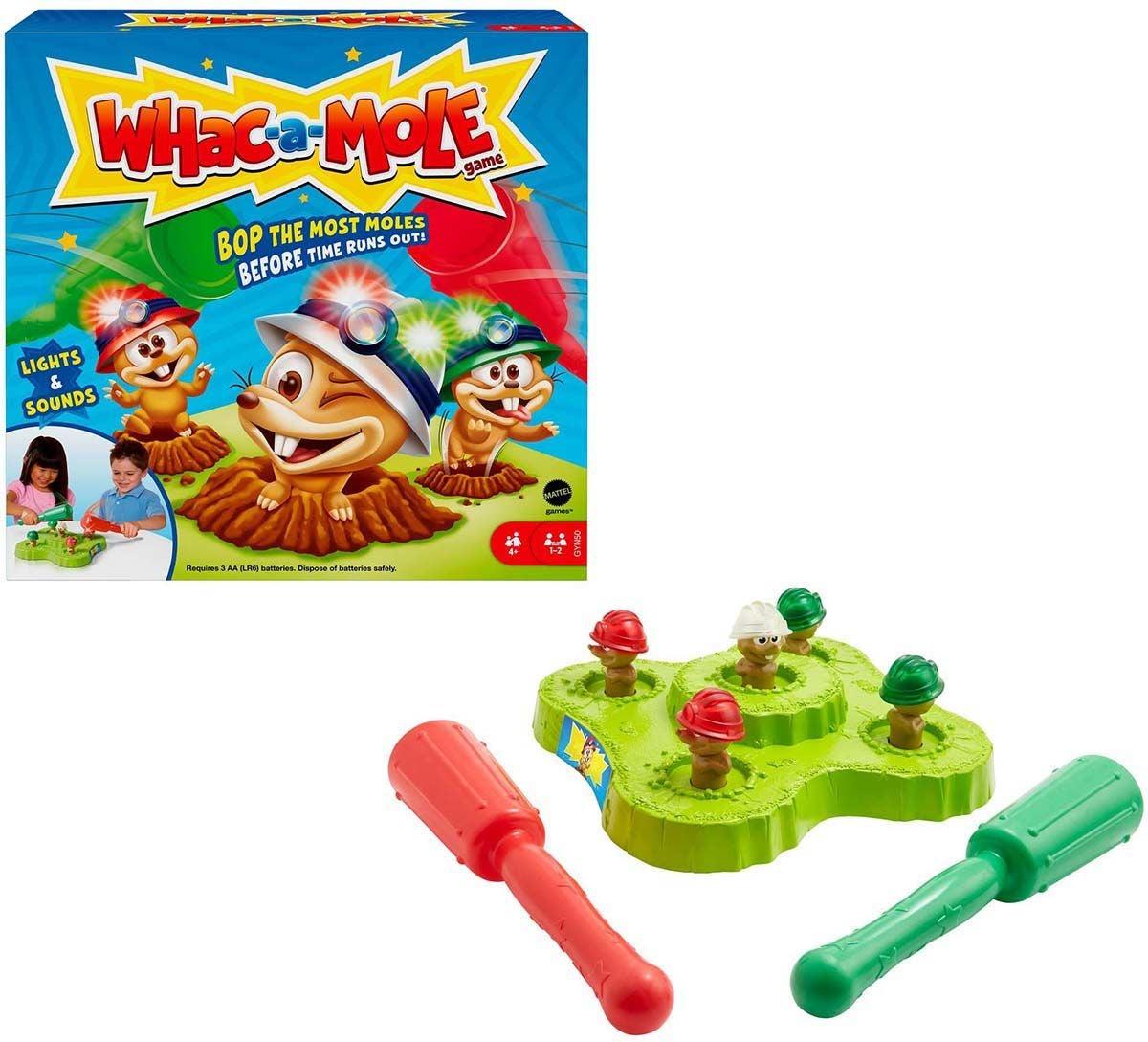 Mattel Whac-A-Mole Spel