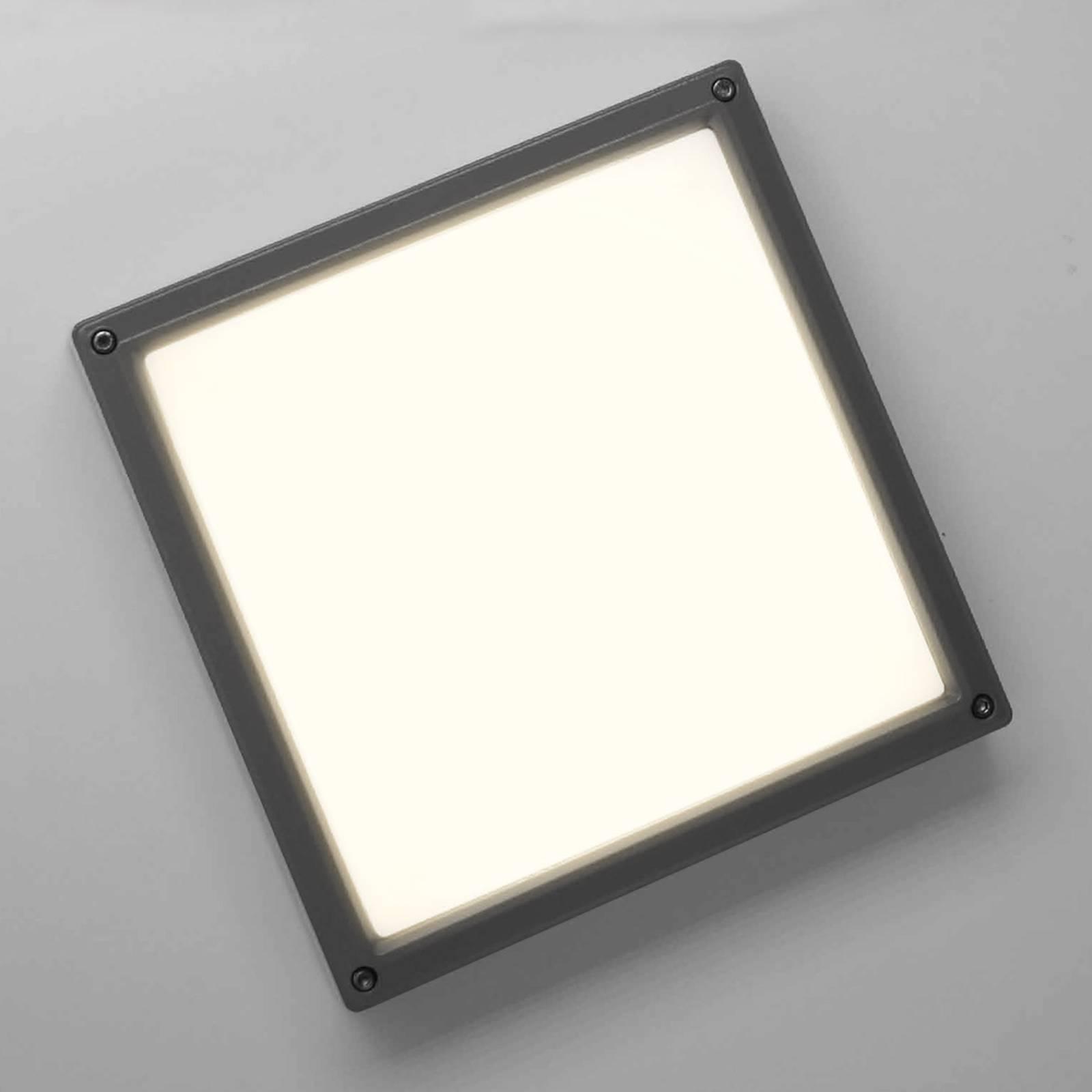 LED-seinävalaisin SUN 11, 13 W 3 K, antrasiitti