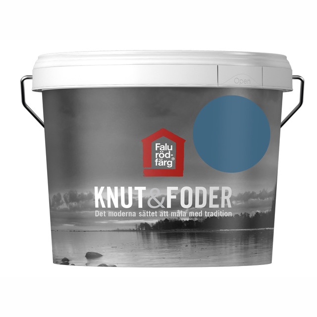 FALU RÖDFÄRG KNUT&FODER BLÅ 3L