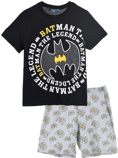 Batman Pysjamas, Black, 8 År