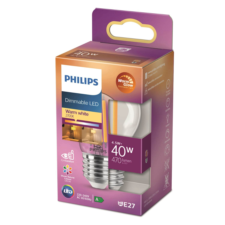Philips LED Classic 40w klot e27