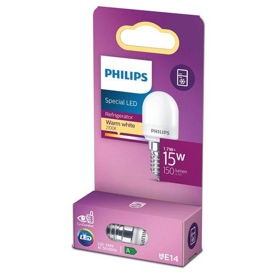 Philips LED-jääkaappilamppu E14 T25 0,9W matta