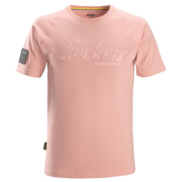 Snickers 2580 T-skjorte rosa XS