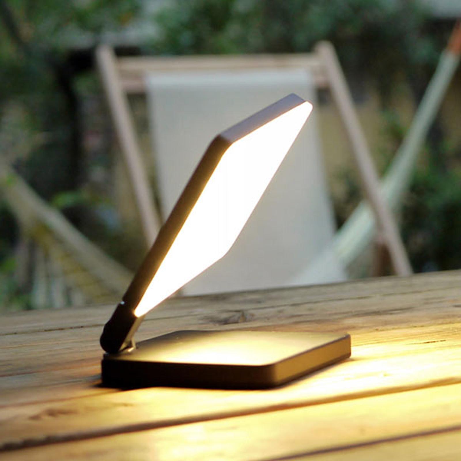 Nimbus Roxxane Fly LED-pöytävalaisin, musta