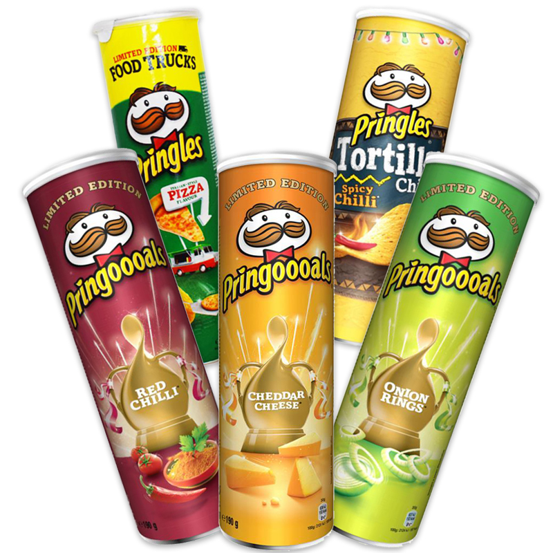 Pringles Smak-Paket - 35% rabatt