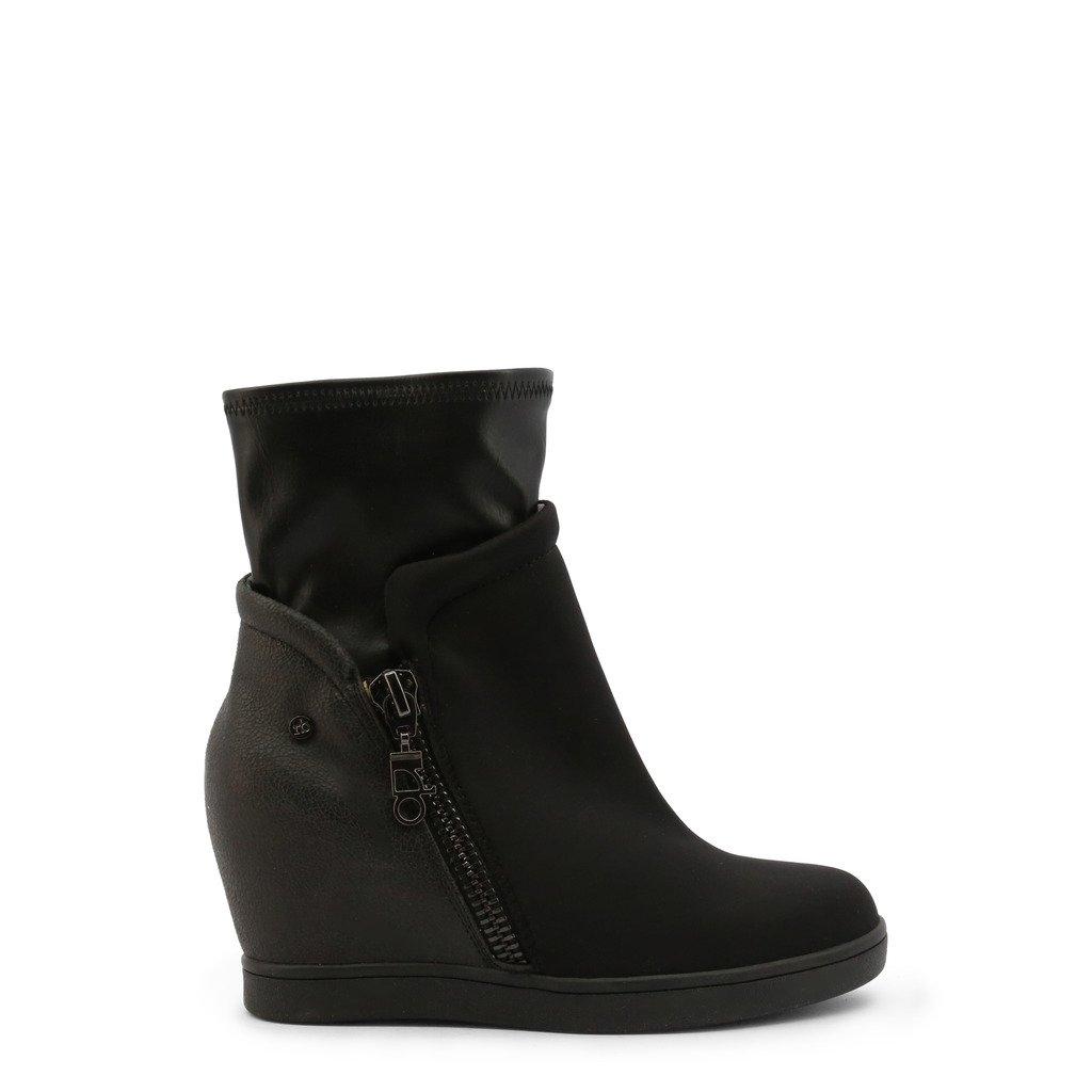 Roccobarocco Women's Ankle Boot Black RBSC0US04TESSTD - black EU 37