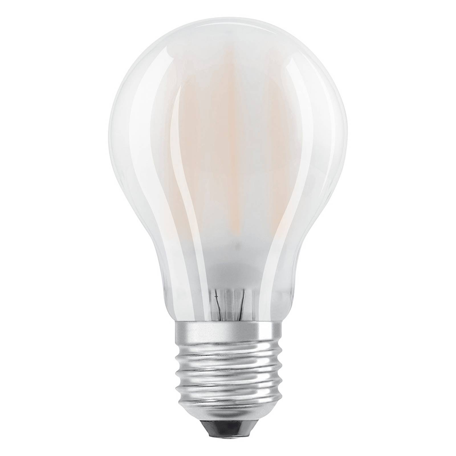 E27 7W 827 LED-lamppu 2 kpl:n setti, matta