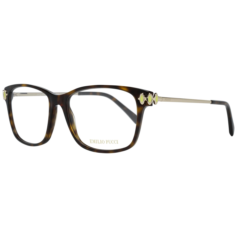 Emilio Pucci Women's Optical Frames Eyewear Brown EP5054 54052