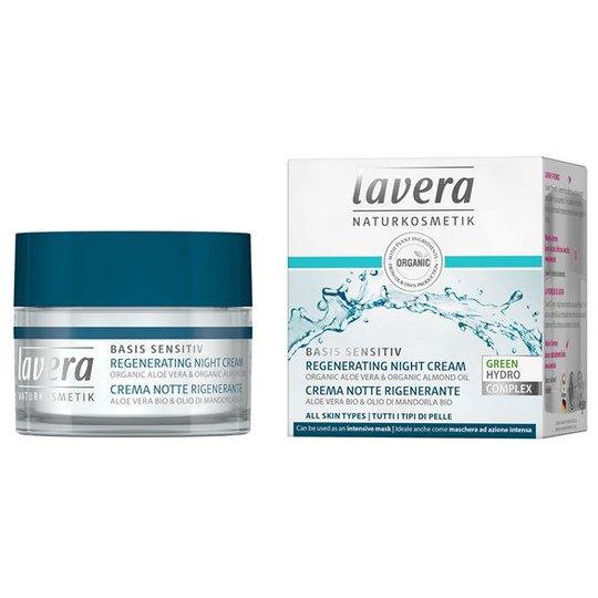 Lavera Basis Sensitiv Regenerating Night Cream, 50 ml
