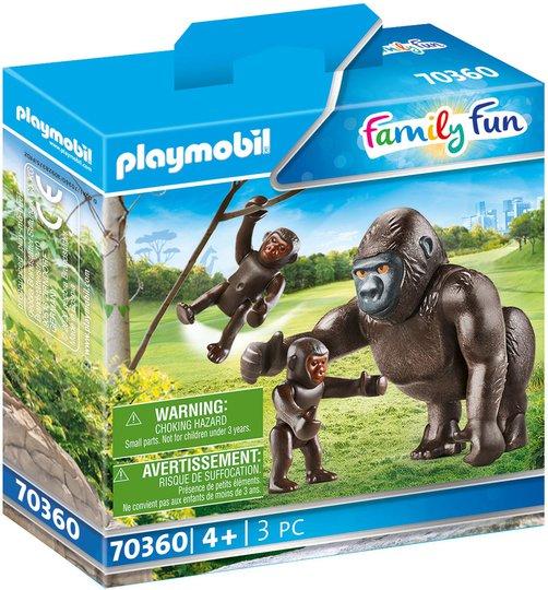 Playmobil 70360 Gorilla Med Unger