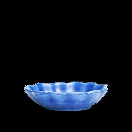 Ostronskål Liten Ljusblå 18x16 cm