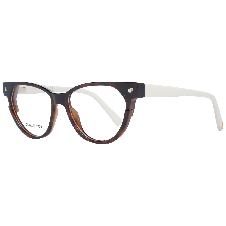 Dsquared² Women's Optical Frames Eyewear Brown DQ5248 50053