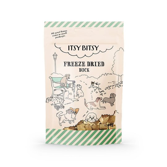 ItsyBitsy Dog Freeze Dried Duck