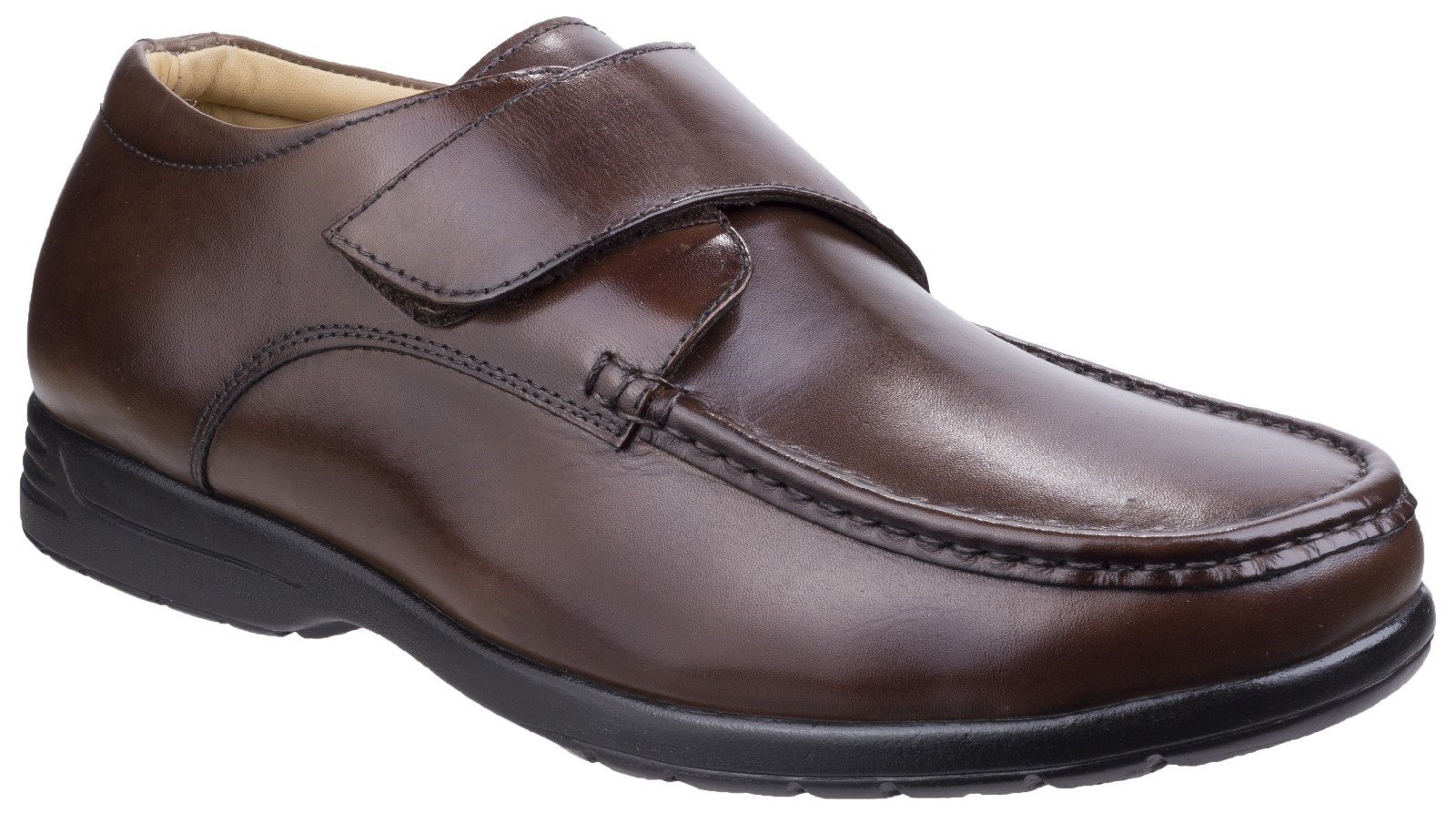Fleet & Foster Men's Fred Dual Fit Moccasin Black 26320-43938 - Brown 6