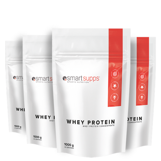 SmartSupps Whey Protein Mix&Match, 4x1 kg