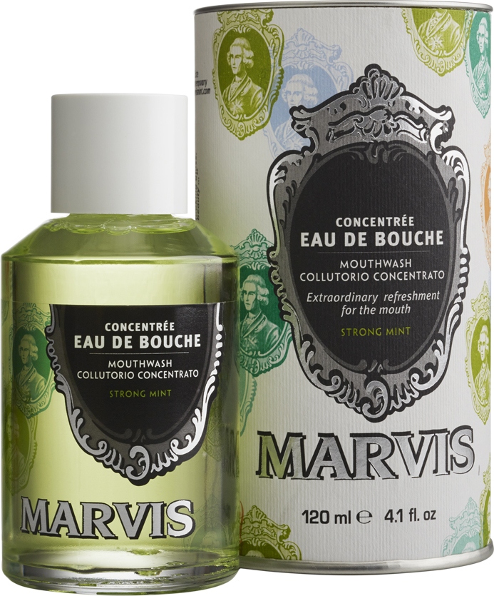MARVIS - Mouthwash Strong Mint 120 ml