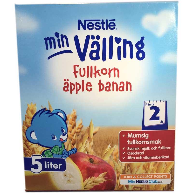 Fullkornsvälling Äpple & Banan 5L - 82% rabatt