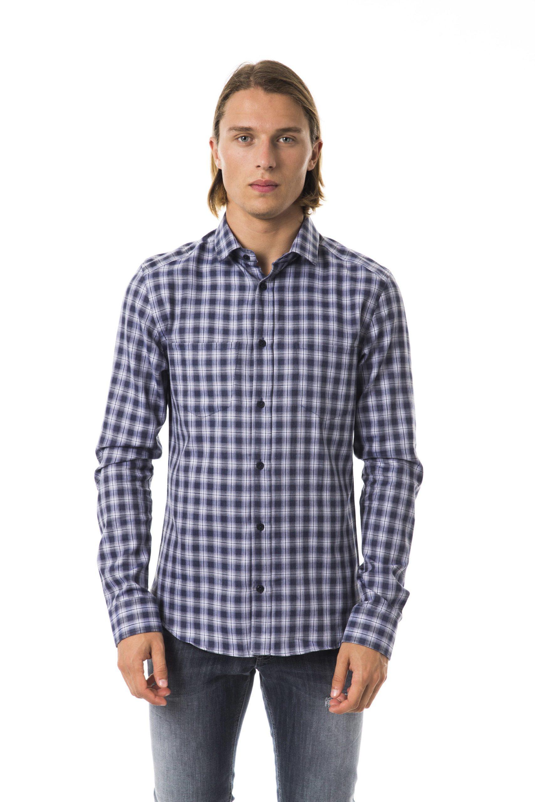 BYBLOS Men's Blu Shirt Blue BY1394839 - S