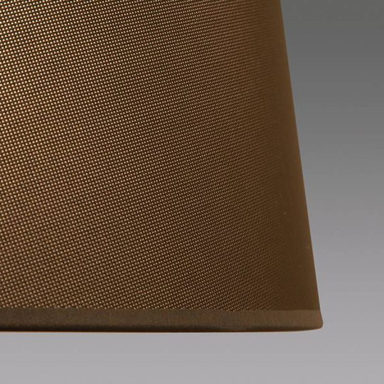 LOUM Bivio M gulvlampe høyde 146 cm Ø 50 cm brun
